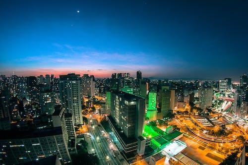 Δωρεάν στοκ φωτογραφιών με απόγευμα, αρχιτεκτονική, αστικός, γραμμή ορίζοντα