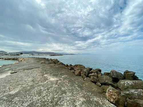 Ảnh lưu trữ miễn phí về bãi biển, bãi đá, bắn cực rộng, bầu trời