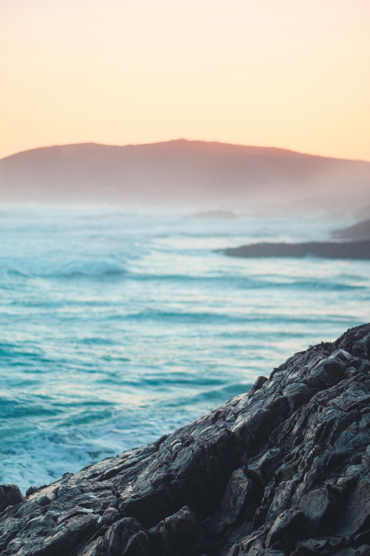 Ocean Waves Scenery