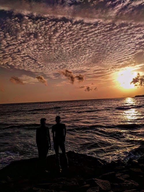 Free stock photo of artistic background, atmospheric evening, beautiful sky, black
