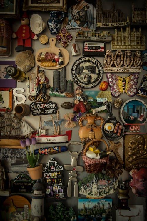 Gratis arkivbilde med kjøleskap, magnet, magneter