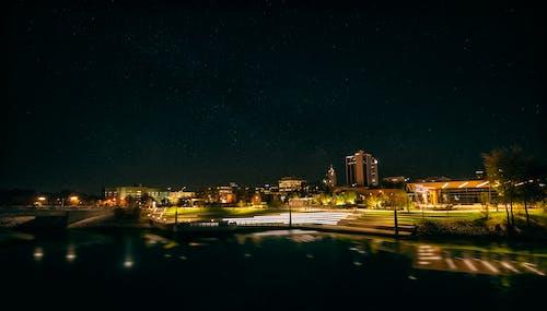 城市的天空, 天空, 建築, 晚間 的 免费素材照片
