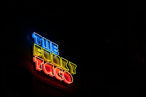The Funky Taco Neon Signage