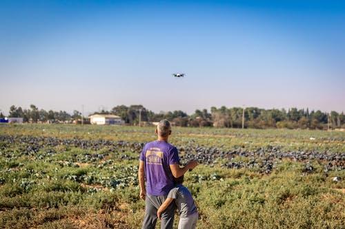 Δωρεάν στοκ φωτογραφιών με drone, αγόρι, αγρόκτημα, αγροτικός