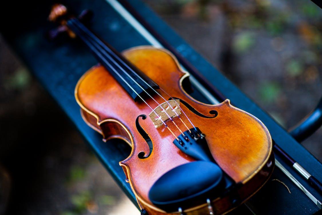 Close-Up Photo Of Violin