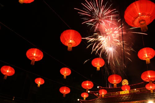 Free stock photo of chinese lanterns, chinese new year eve, chinese tradition