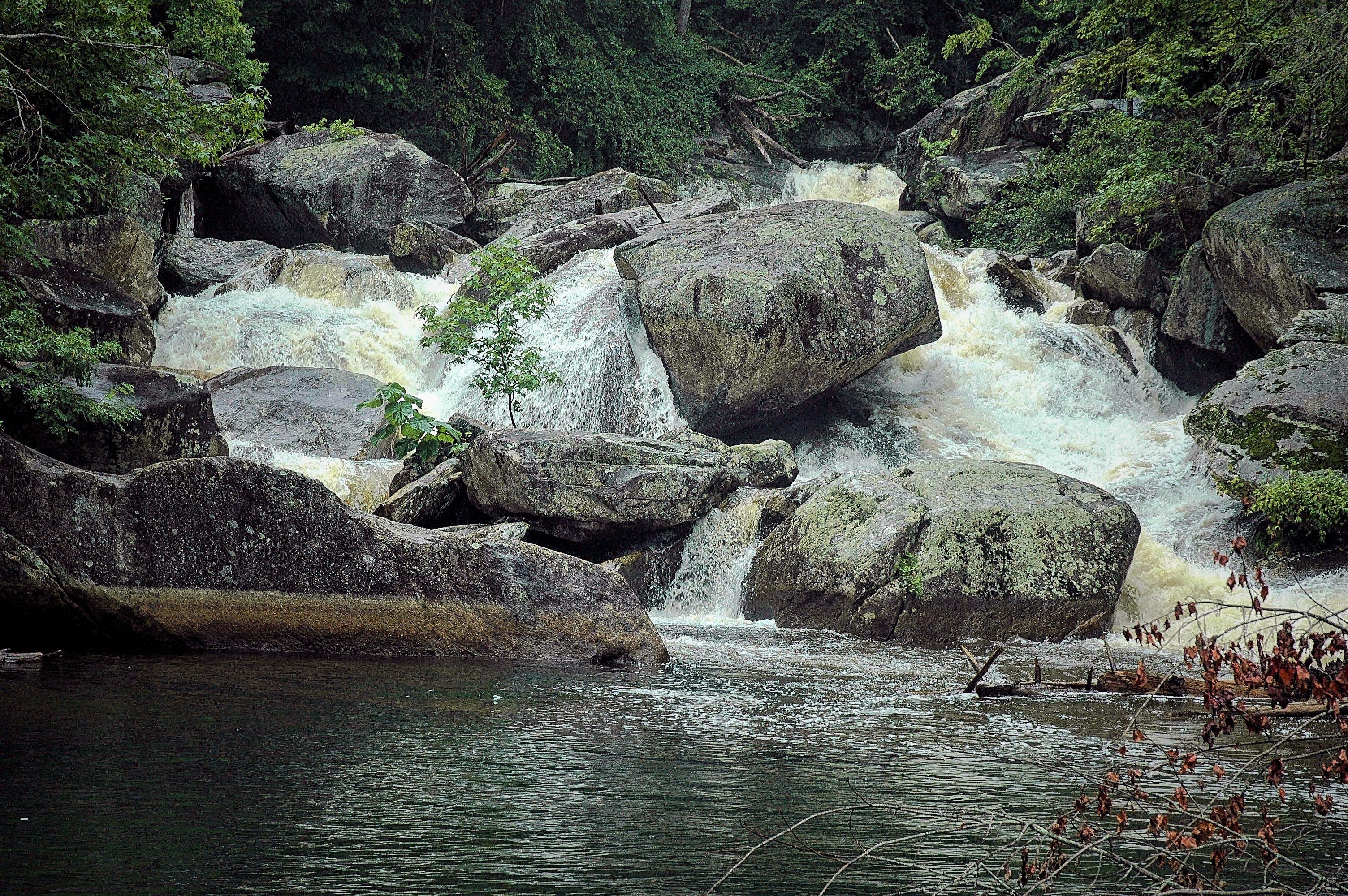 Free stock photo of river, rocks, waterfall