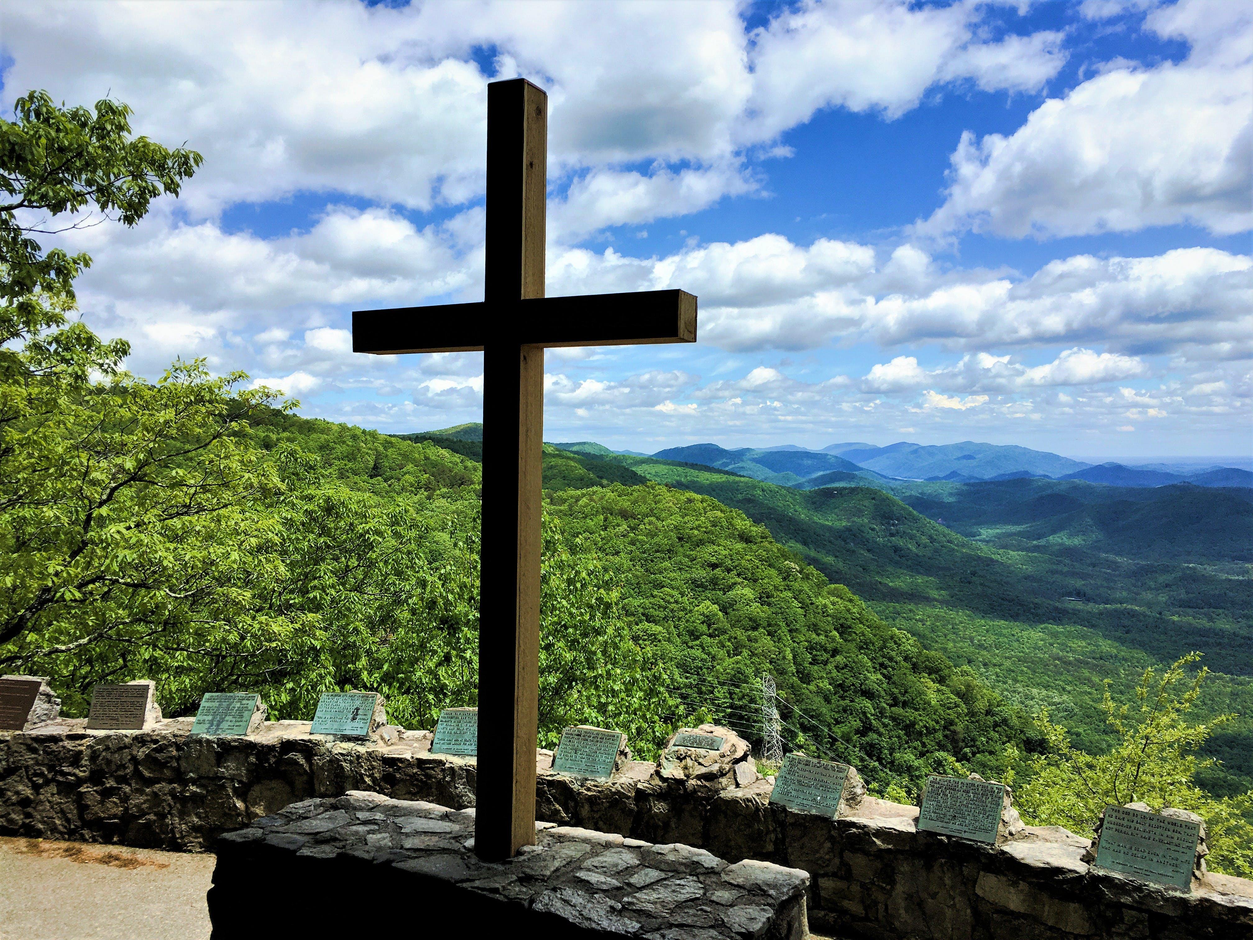 Free stock photo of christianity, cross, religious, scenic