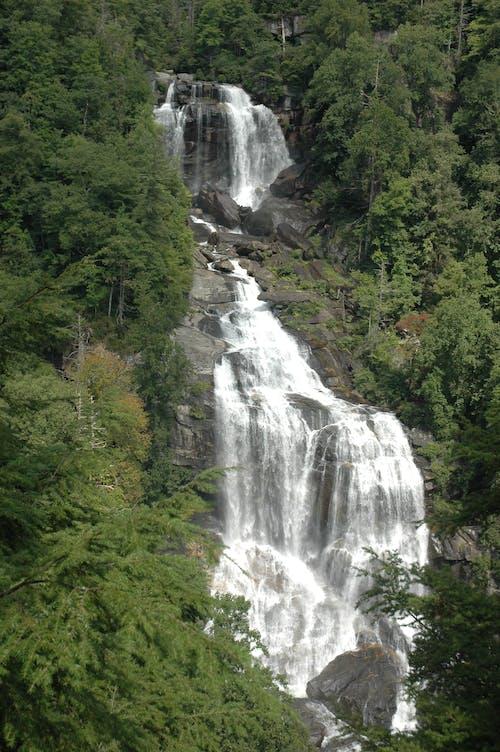 Free stock photo of mountain, scenic, waterfall