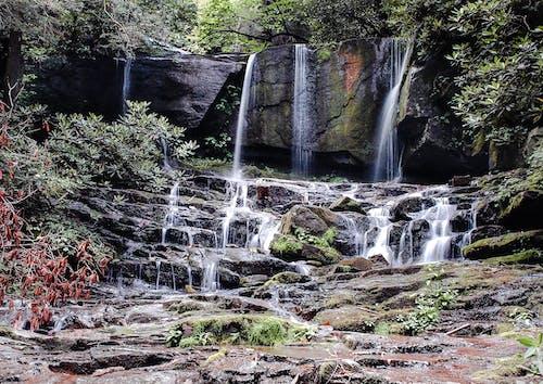 Бесплатное стоковое фото с активный отдых, вода, водопад, водопады
