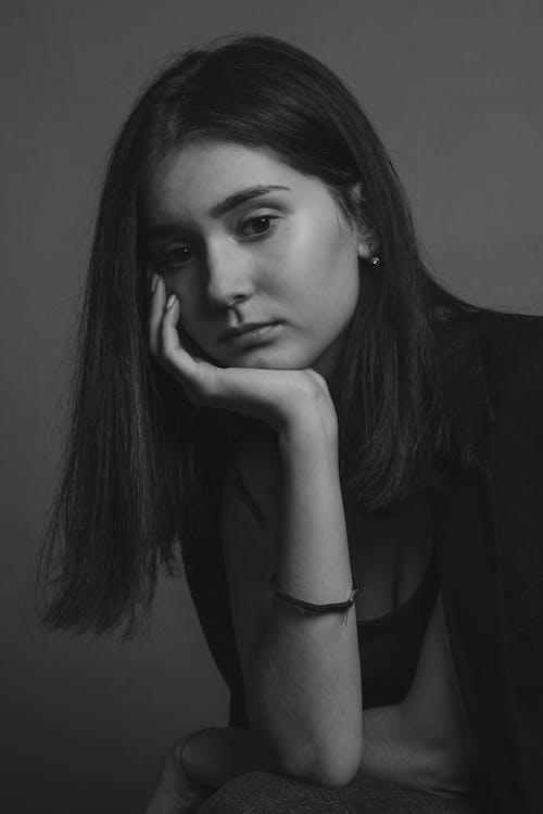 매력적인, 모델, 블랙 앤 화이트, 사람의 무료 스톡 사진