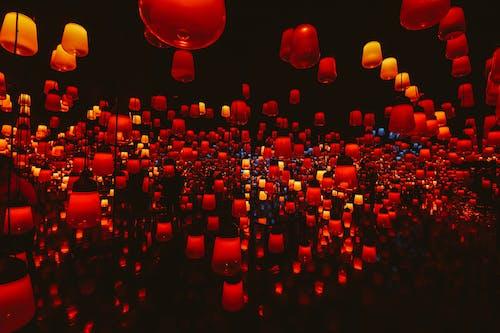 Ingyenes stockfotó 4k-háttérkép, artsy, dísz, fények témában