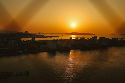 Ingyenes stockfotó festői, goldenhour, látványos, naplemente témában
