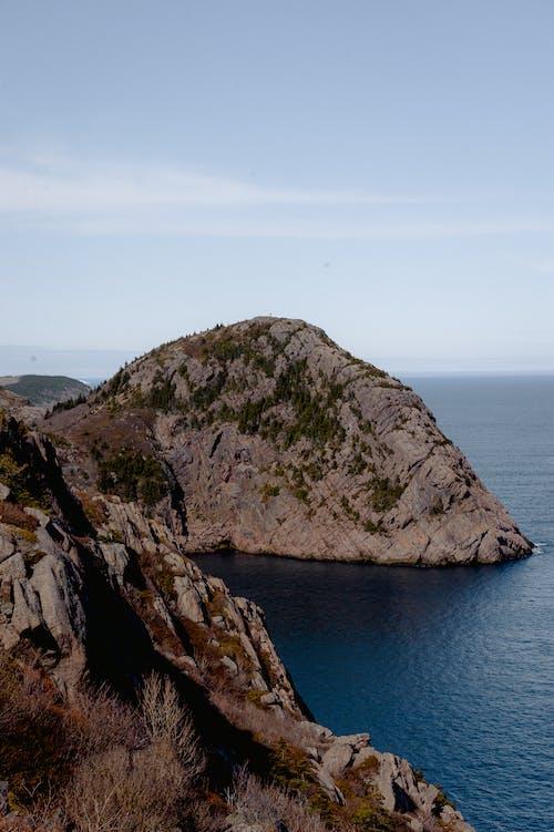 dağ, deniz, jeoloji, jeolojik oluşum içeren Ücretsiz stok fotoğraf