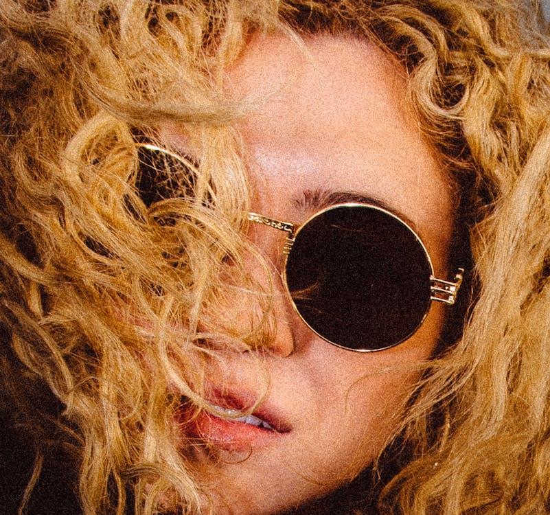 곱슬머리, 머리, 모델