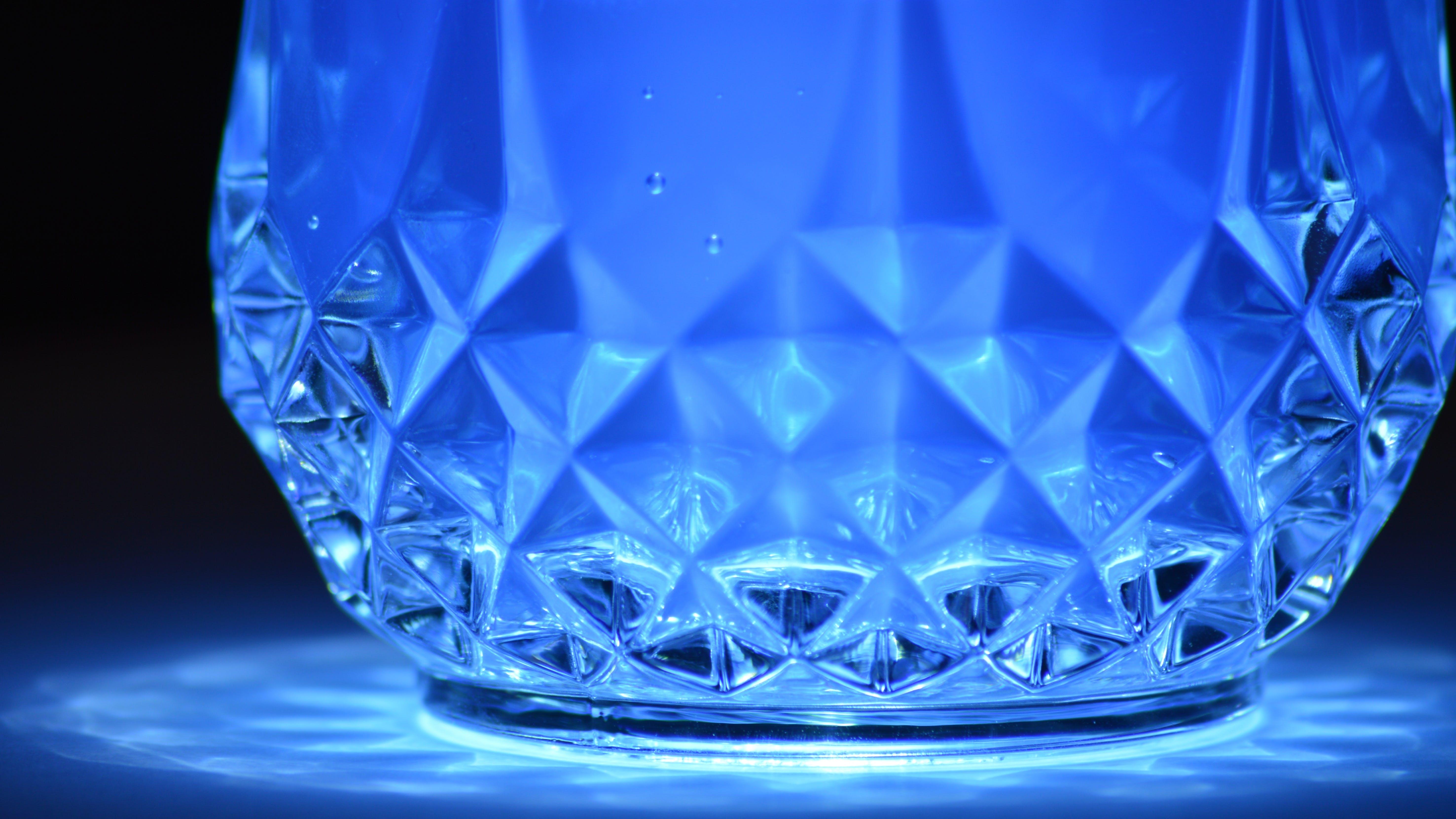 Foto d'estoc gratuïta de àrea il·luminada, art, blau, brillant
