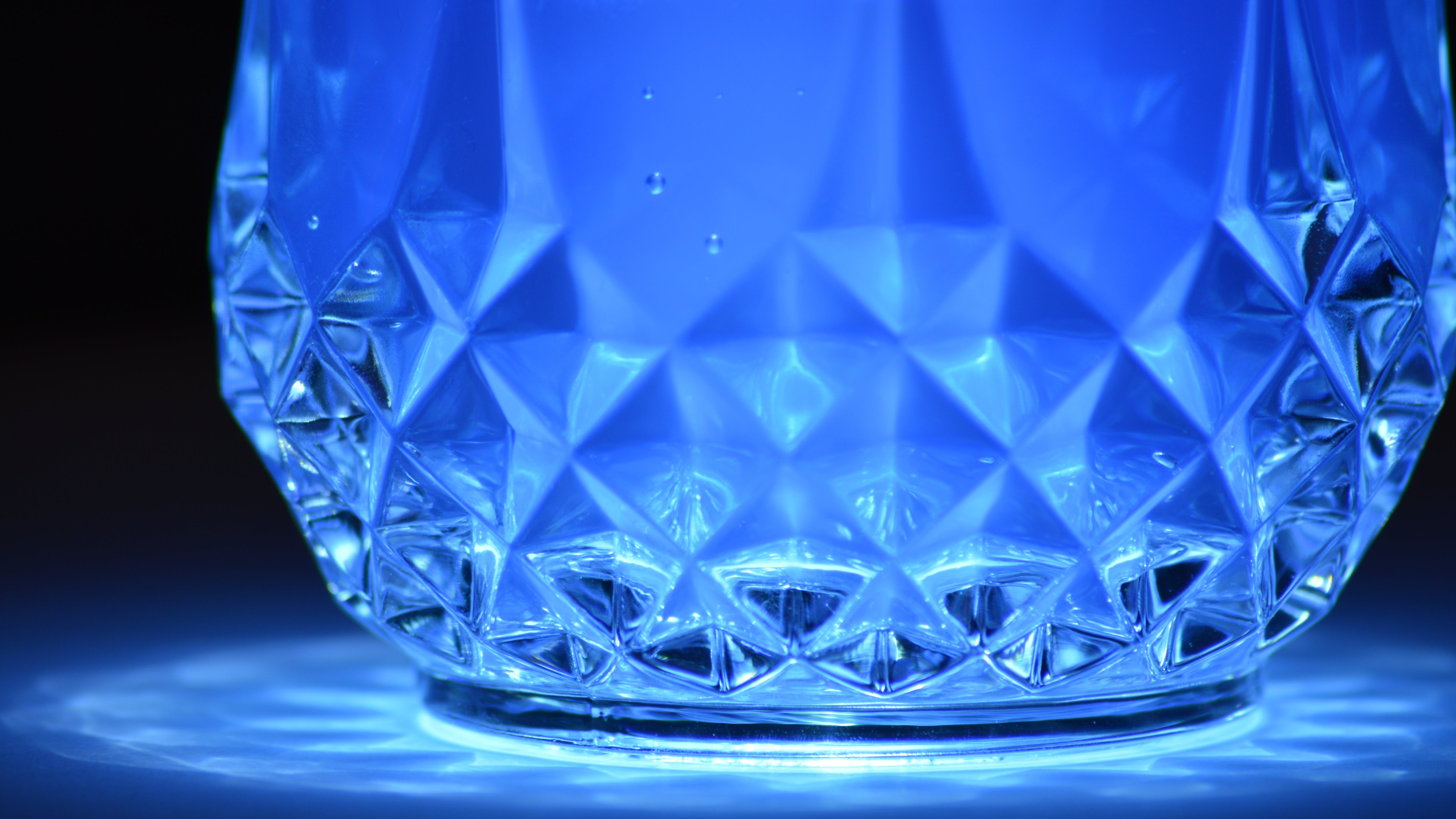 Close-up of Blue Reflection