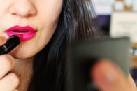 woman, makeup, beauty