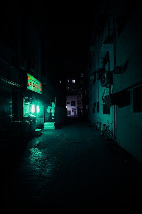 Photo of Dark Alleyway