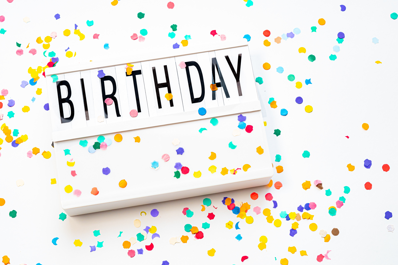 Birthday Wallpaper · Free Stock Photo