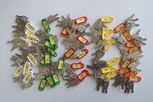Fotos de stock gratuitas de llaves, llaves del casillero