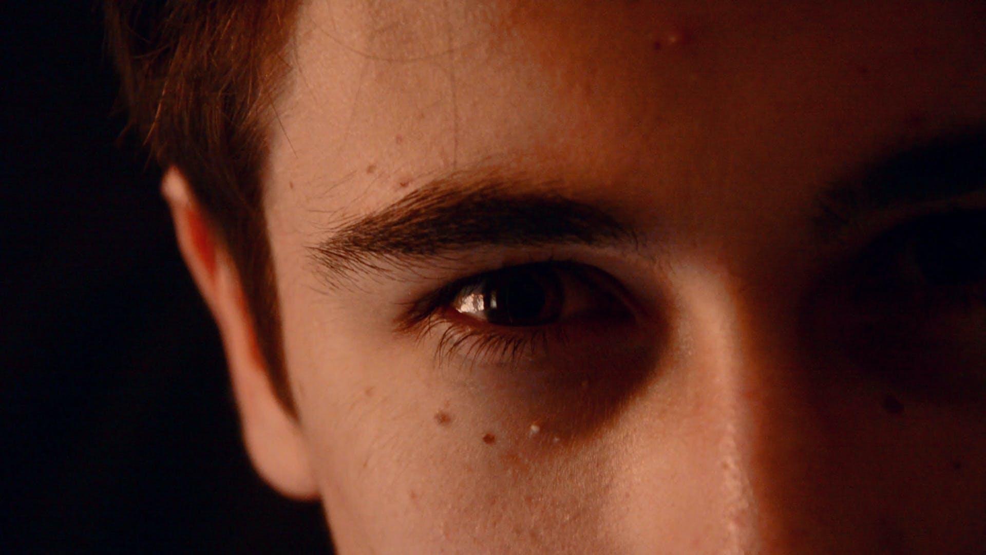 Free stock photo of eyes, boy, movie, terror