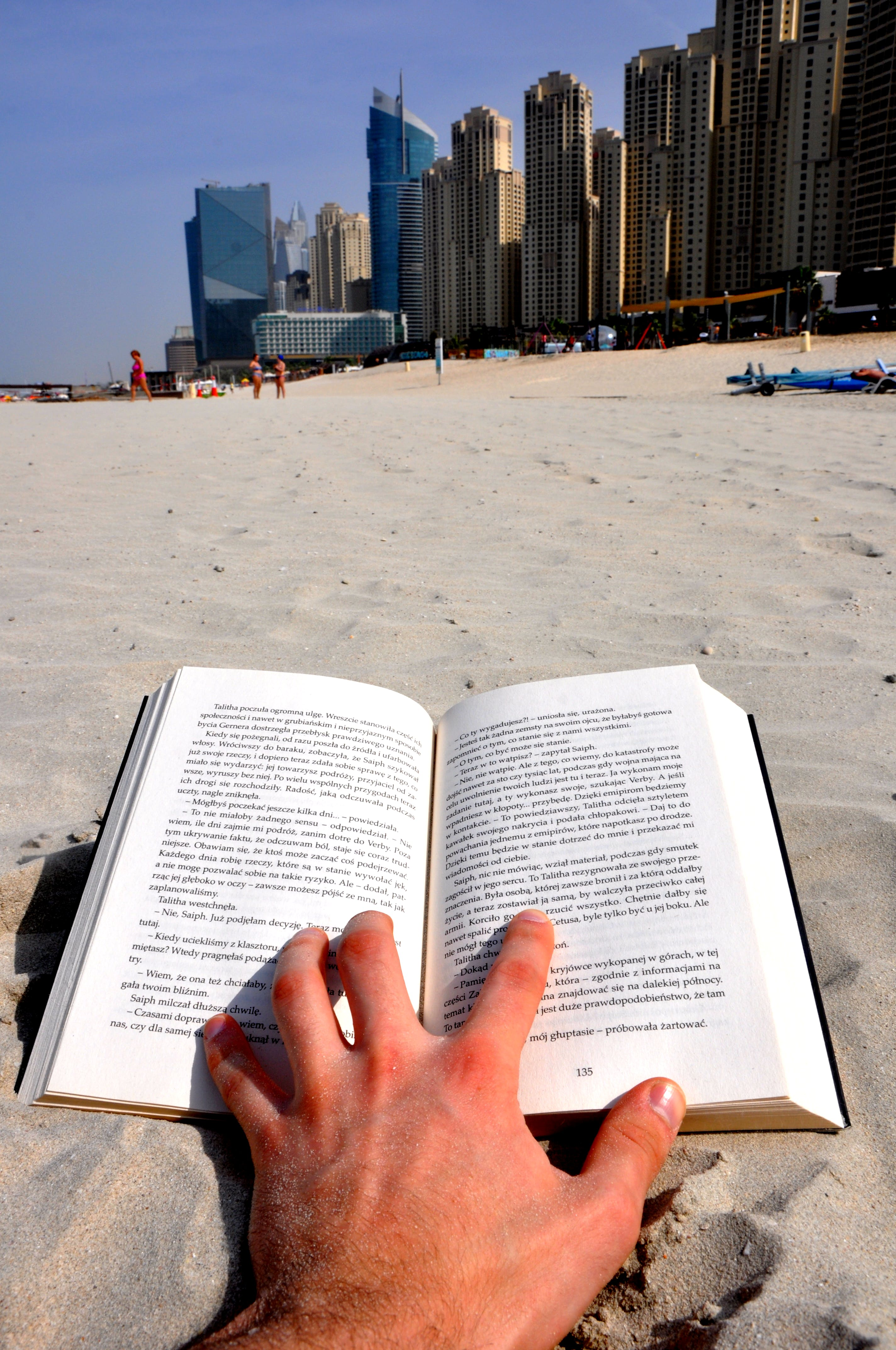 Free stock photo of book, hotels, sand beach