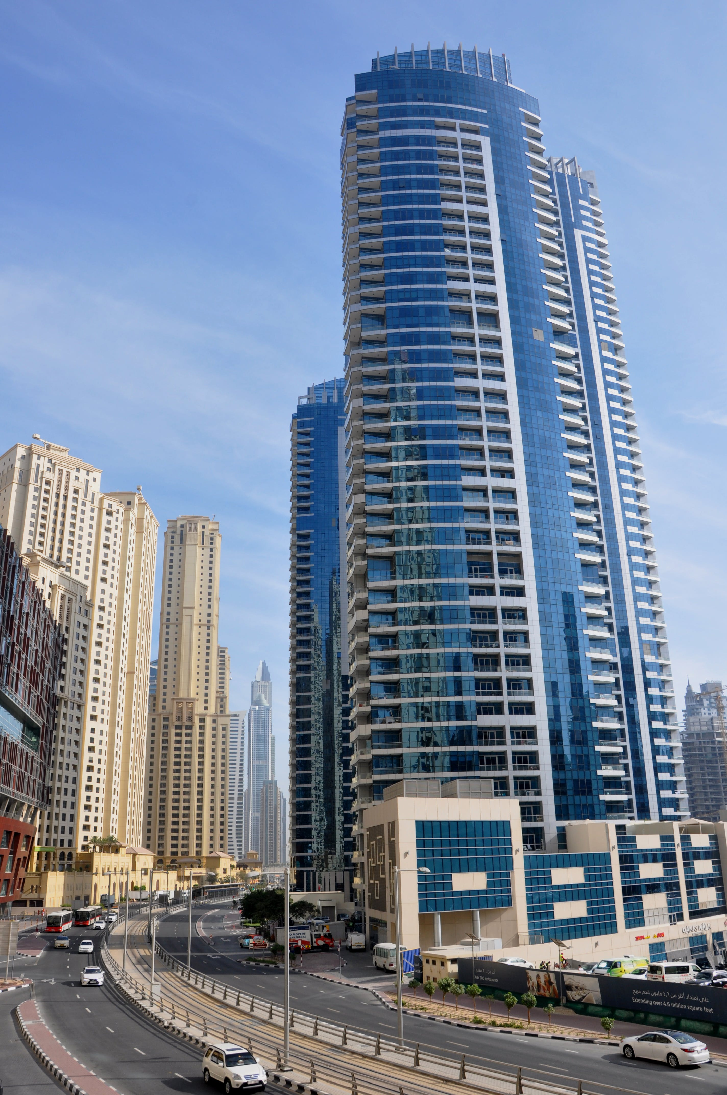 Free stock photo of big city, building, Dubai Marina
