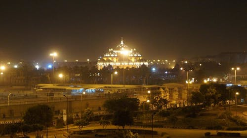 Free stock photo of akshardham tample in delhi, tample