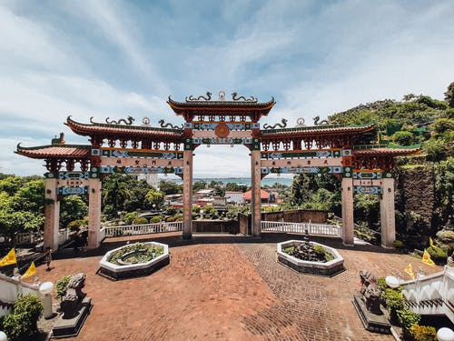 Free stock photo of Chinese temple, chinese temple gate, Ma-Cho Temple