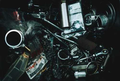 Free stock photo of mechanic, mechanical, motor bike, tool kit