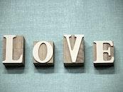 wood, love, typography