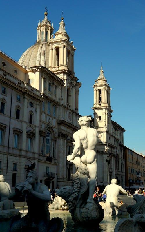 Immagine gratuita di chiesa, italia, posto famoso, roma