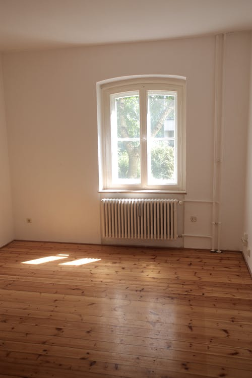 Electric Heater In A Room