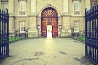 door, gate, entrance