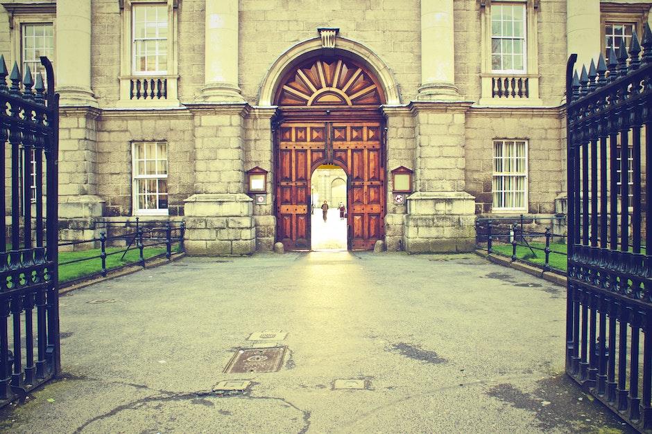 door, entrance, gate