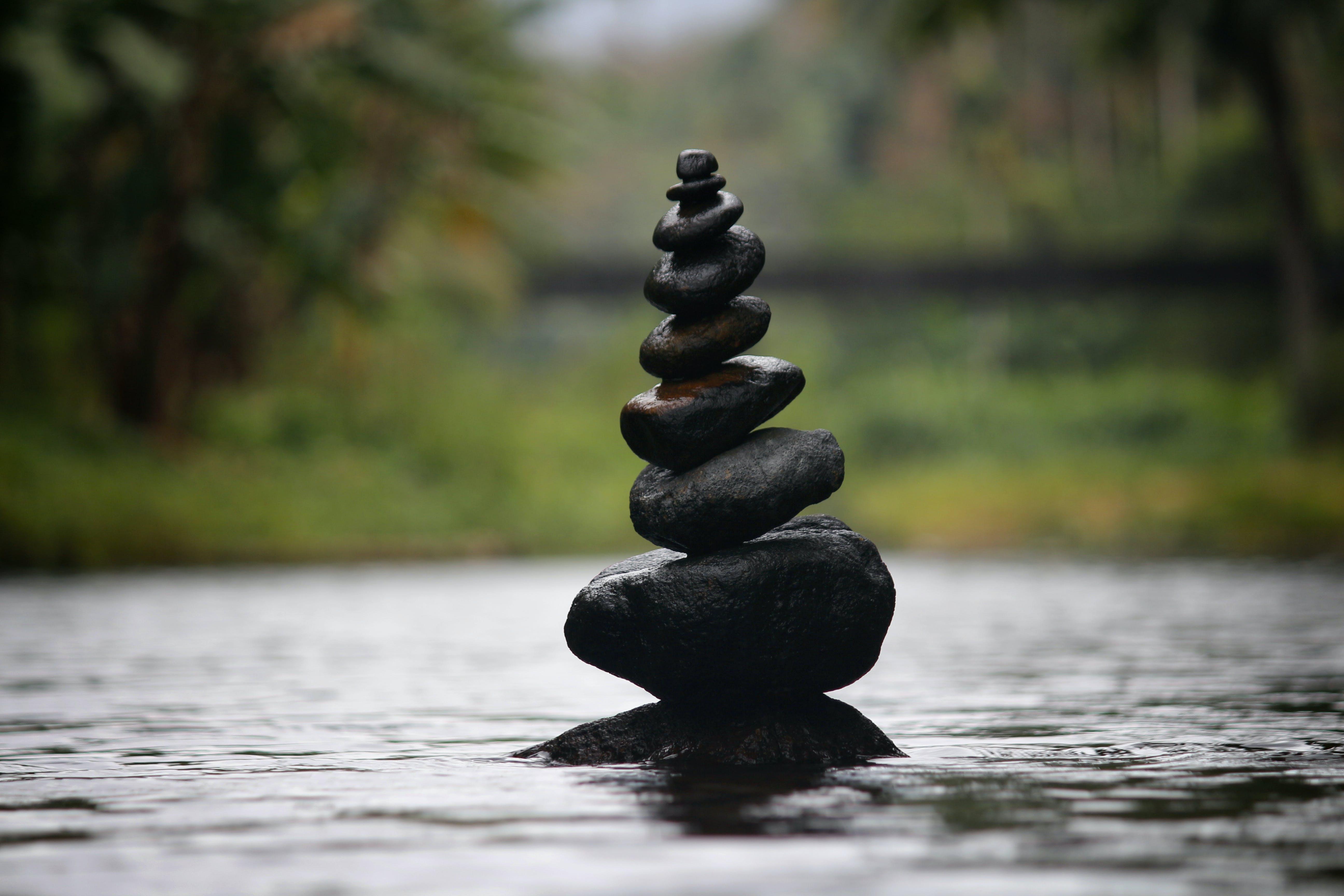Foto profissional grátis de água, balança, borrão, calma