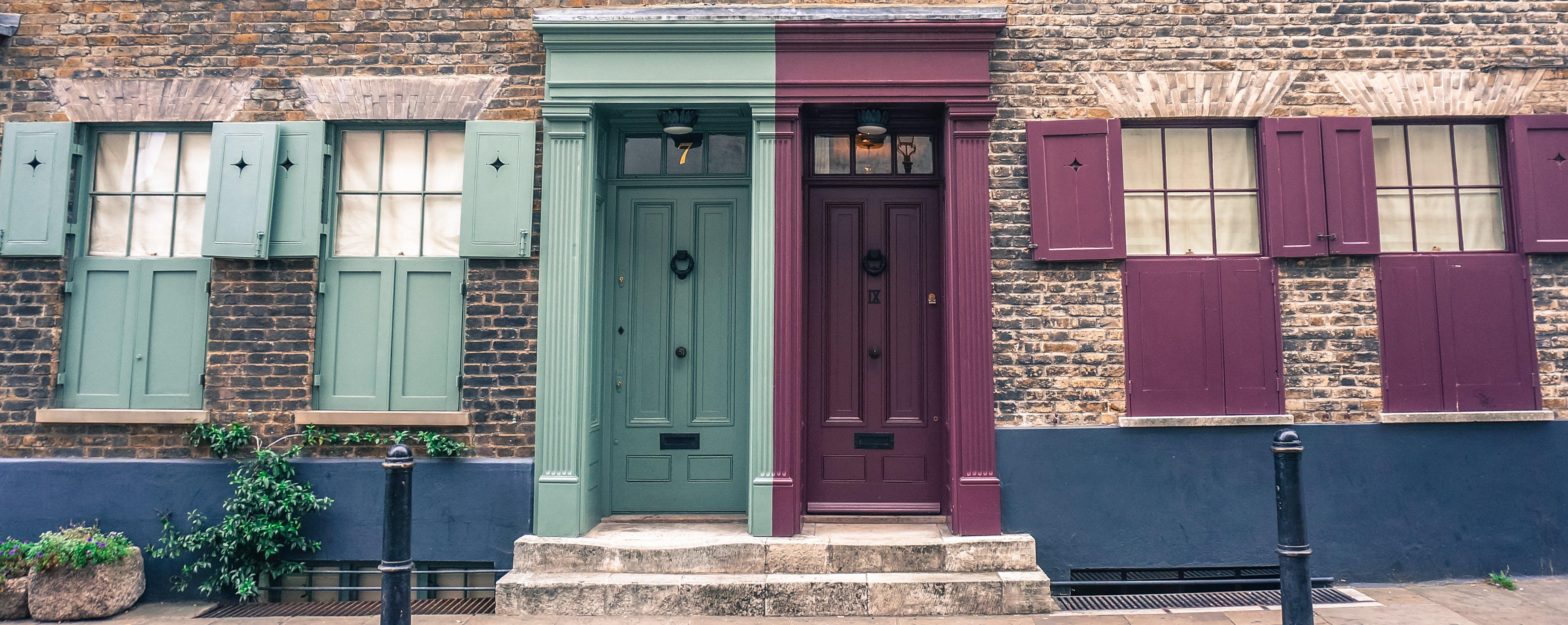 Δωρεάν στοκ φωτογραφιών με έγχρωμη πόρτα, θύρα, Λονδίνο, πόρτες