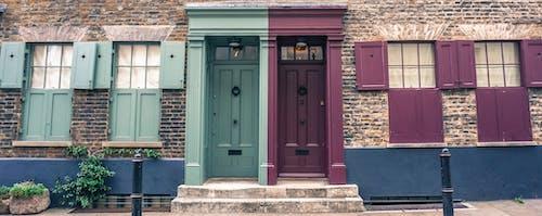 Kostenloses Stock Foto zu farbe tür, london, tür, türen