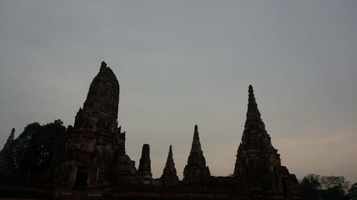 Free stock photo of sky, temples, thailand