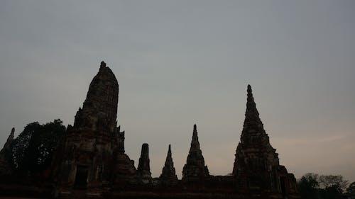 Kostenloses Stock Foto zu himmel, tempel, thailand