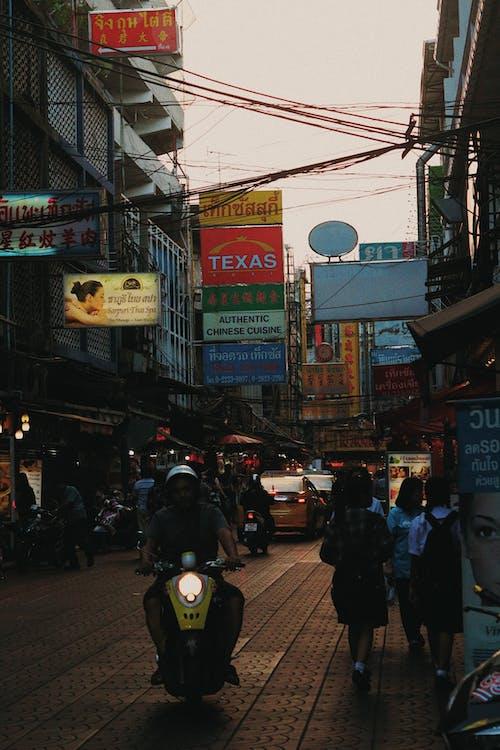 曼谷, 泰國, 街 的 免费素材照片