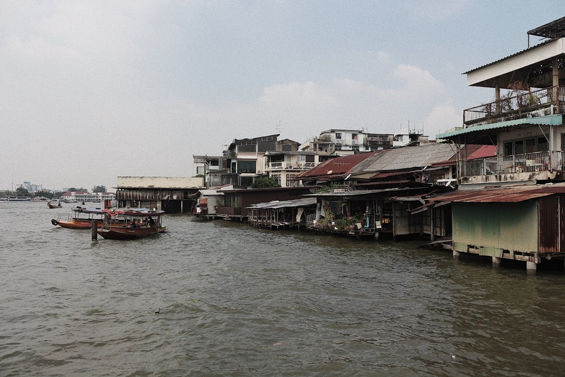 αρχιτεκτονική, αστικός, βάρκες