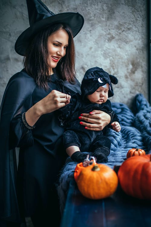 Woman In A Witch Costume