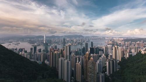 คลังภาพถ่ายฟรี ของ ตึก, ตึกระฟ้า, ทิวทัศน์เมือง, สถาปัตยกรรม