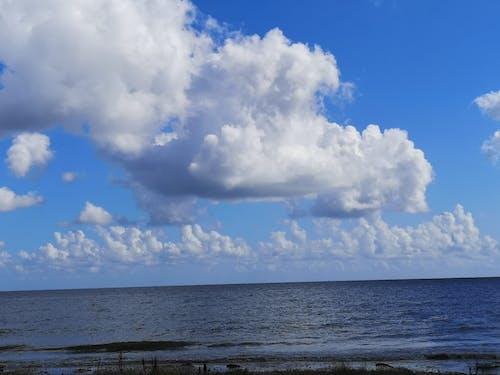 Darmowe zdjęcie z galerii z białe chmury, normandy