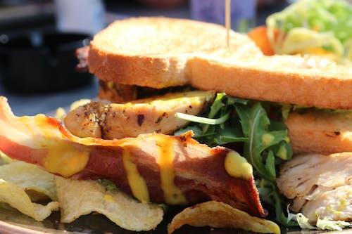Δωρεάν στοκ φωτογραφιών με κλαμπ σάντουιτς, μεσημεριανό γεύμα, τρόφιμα