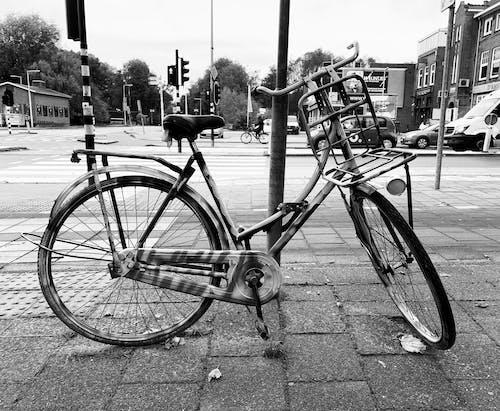 Foto d'estoc gratuïta de amsterdam, bici, ciclons
