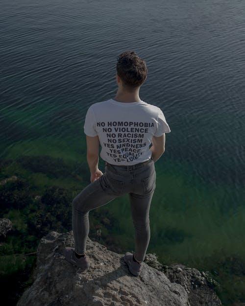 Бесплатное стоковое фото с разрыв, спина мужчины