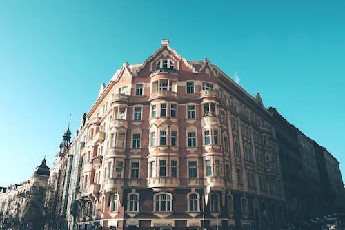Základová fotografie zdarma na téma apartmány, architektura, budova, denní světlo